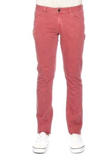 Fabrika Pantolon Kırmızı